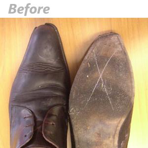 靴修理ビフォー2